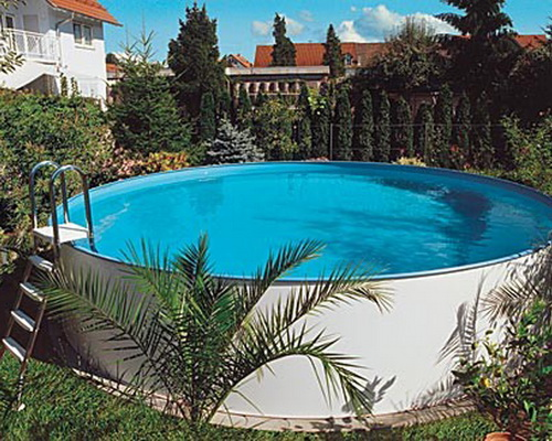 серия круглых бассейнов Unipool