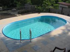 серия овальных бассейнов Unipool