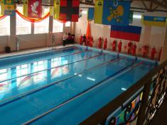 25-ти метровый бассен ФОК Старт г.Скопин Рязанской области