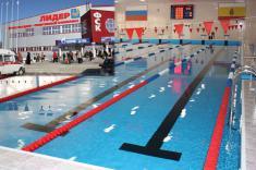 Оздоровительный бассейн 25х14 м ФСК Лидер (г.Касимов)