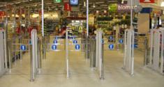 Автоматические ворота ITAB (Швеция)