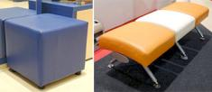 Банкетки, пуфики, стулья для примерки обуви