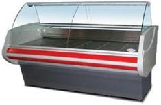 Витрина холодильная Нарочь-125 ВC-0,28-1,07-2-5В (красная)