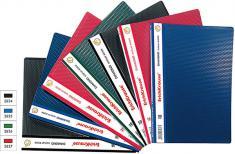 Папка для документов DIAMOND BOOK (A4) с прозрачными листами-карманами, 2834