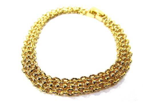 Браслет Золотое плетение Ф10