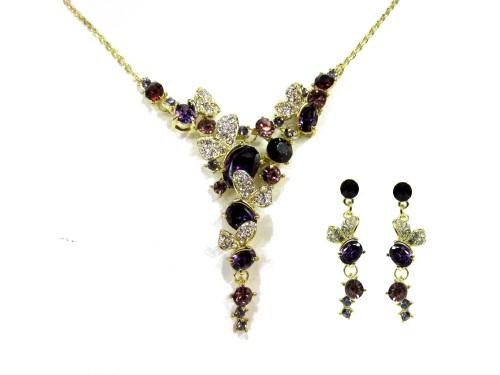 Комплект Фиолетовые бабочки ФК8