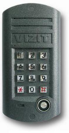 Блок вызова для совместной работы с БУД-301М(К), 302. Встроенный считыватель ключей TOUCH MEMORY. П