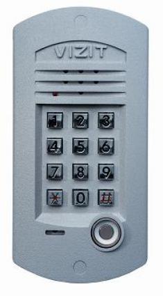 Блок вызова для совместной работы с БУД-301М(К), 302. Встроенный считыватель ключей TOUCH MEMORY.