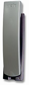 Трубка переговорная со световой индикацией и регулировкой громкости вызова. Цвет трубка-серый метал
