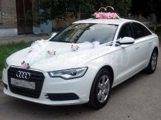 Audi A6 NEW (белый)