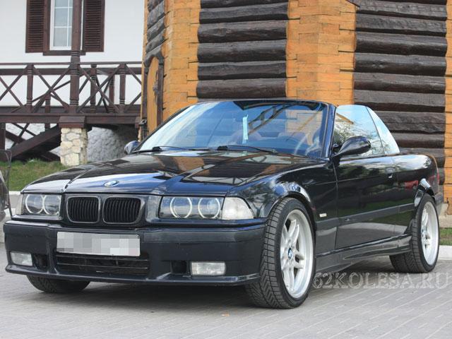 BMW 3-Series Cabriolet, черный, 3 места, 1500 р.час, 1 шт.