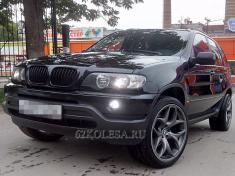 BMW X5, черный