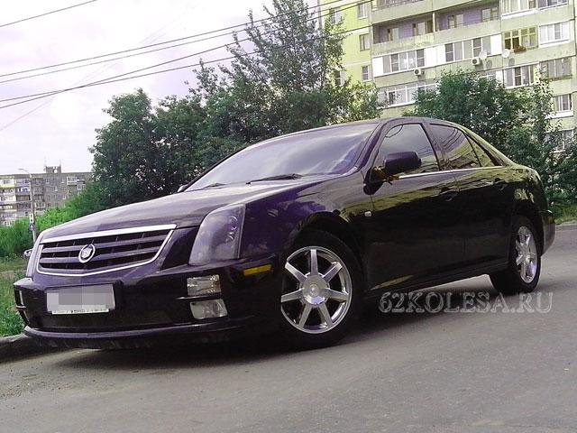 Cadillac STS (черный)
