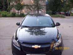 Chevrolet Cruze (черный)