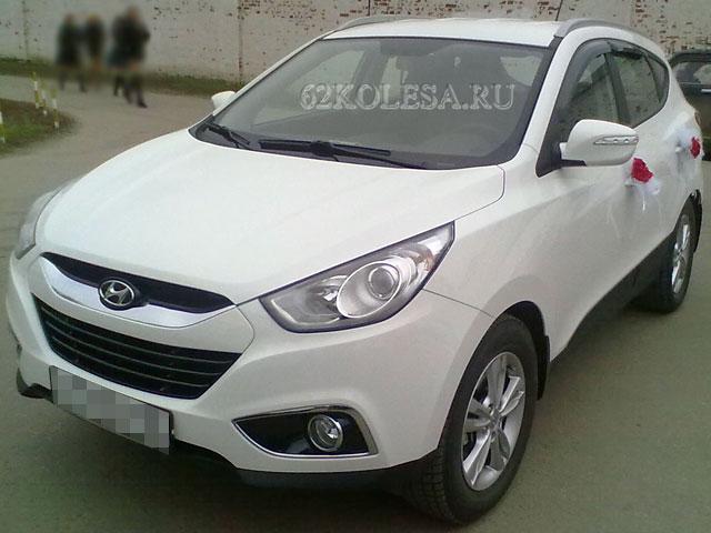 Hyundai ix35 (белый)