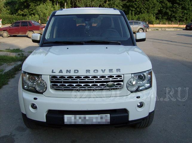 Land Rover Discovery 4 (белый)