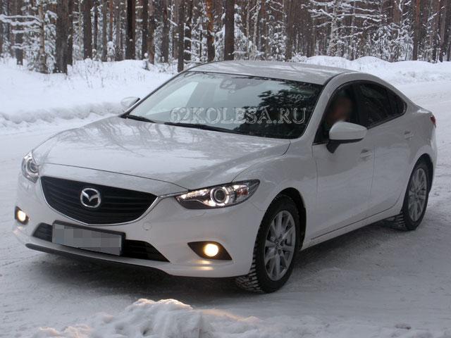 Mazda 6 NEW (белый)