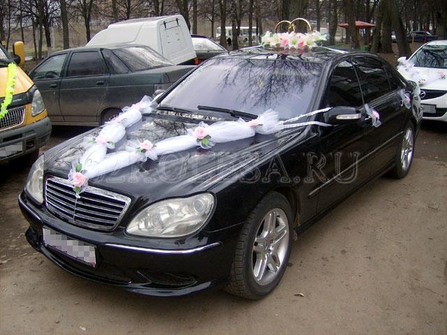 Mercedes Benz S-Klasse W220 (черный), 1000 р.час, 1 шт.