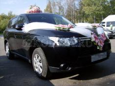 Mitsubishi Outlander 2013 (черный), 800 р.час, 1 шт.