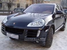 Porsche Cayenne Turbo S (черный), 1200 р.час, 2 шт.